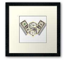 Money Money Money Framed Print