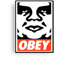 OBEY GIANT - André the Giant  Canvas Print