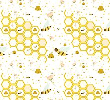 Honey Bees by SVaeth