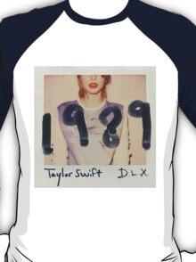 Taylor Swift 1989 Album Cover T-Shirt