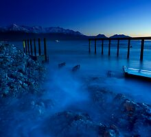 Blue Pier by Ken Wright