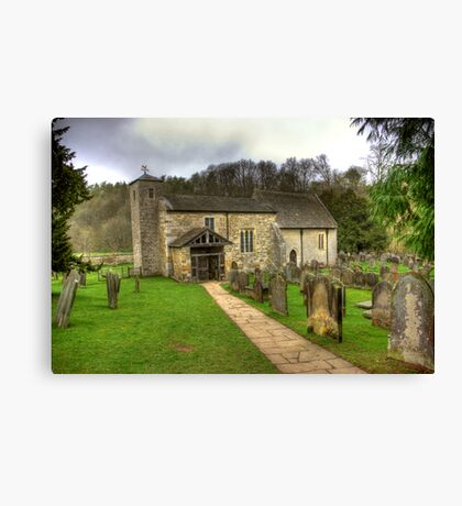 St Gregory's Minster - North Yorkshire Canvas Print