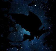 How to train your dragon - Toothless and Hiccup night by Domadraghi