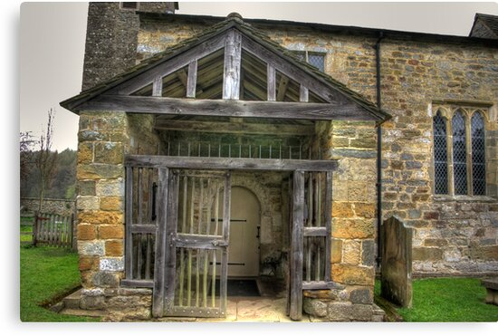 The Entrance St Gregory's Minster by Trevor Kersley