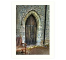The Door - St Gregory's Minster Art Print