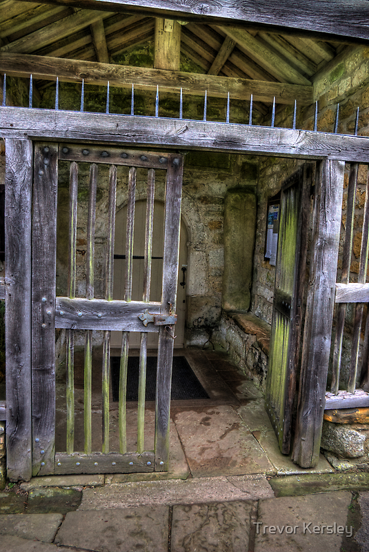 The Gate - St Gregory's Minster by Trevor Kersley