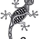 Gecko by Leoni Mullett