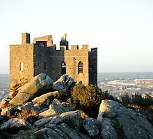 Carn Brea Castle: Redruth Cornwall UK by DonDavisUK
