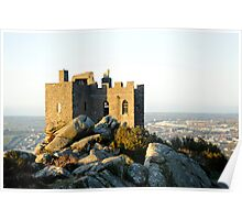 Carn Brea Castle: Redruth Cornwall UK Poster