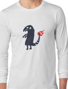 Drunk Charmander tattoo Long Sleeve T-Shirt