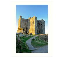 Carn Brea Castle: Redruth Cornwall UK Art Print