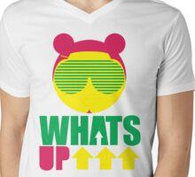 Whats Up Mens V-Neck T-Shirt