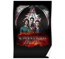 Supernatural Family Dont end with blood 2 Poster