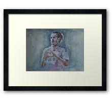 Gareth Bale - Portrait 1 Framed Print