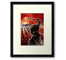 Samurai Showdown- Illustration Framed Print