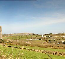 Carnkie Panoramic View: Cornwall UK by DonDavisUK