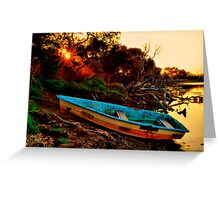 """Evening By The Creek"" Greeting Card"