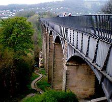 Pontcysyllte aqueduct by karenkirkham