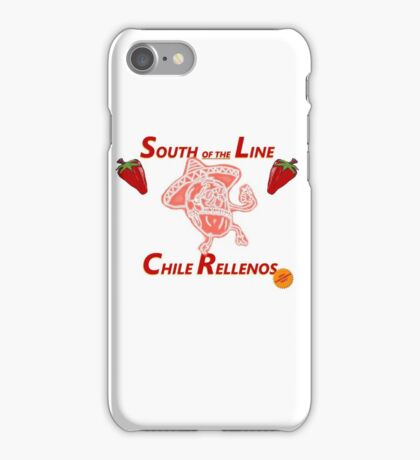 South of the Line iPhone Case/Skin
