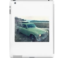 Classic- Volvo- Amazon- Beach iPad Case/Skin