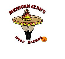 Mexican Alan's Spicy Nachos Photographic Print