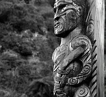 Maori Carving by Stephen McMillan