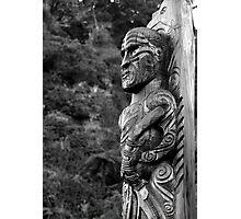 Maori Carving Photographic Print