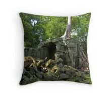 Nature takes over Throw Pillow