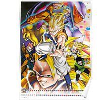Dragon Ball Z Gogeta Fusion Super Saiyan Poster