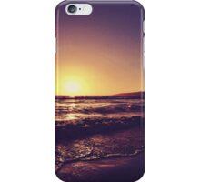 Santa Monica Sunset iPhone Case/Skin