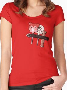Need a sweet fix, Bubbles? Women's Fitted Scoop T-Shirt