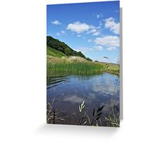 Reflected Blue Sky Greeting Card
