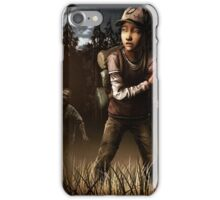 Clementine- The Walking Dead Game iPhone Case/Skin