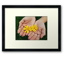 Yellow Flower Framed Print