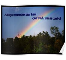 God Is In Total Control  Poster