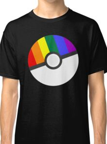 Pokemon 'Prideball' LGBT Pokeball Shirt/Hoodie/etc Classic T-Shirt