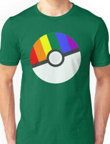 Pokemon 'Prideball' LGBT Pokeball Shirt/Hoodie/etc Unisex T-Shirt