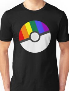 Pokemon 'Prideball' LGBT Pokeball Shirt/Hoodie/etc Unisex T-Shirt