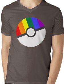Pokemon 'Prideball' LGBT Pokeball Shirt/Hoodie/etc Mens V-Neck T-Shirt