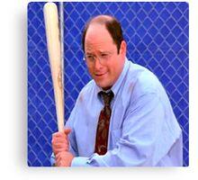 George Costanza baseball bat Canvas Print