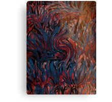 Grass of another world Canvas Print