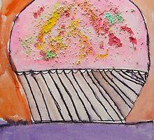 Cupcake by Zoe Thomas age 7 by Julia  Thomas
