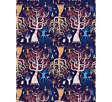 pattern beautiful magical trees Photographic Print