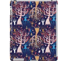 pattern beautiful magical trees iPad Case/Skin