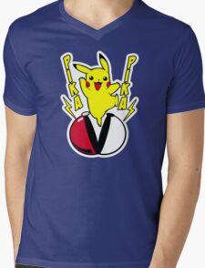 Pika Mens V-Neck T-Shirt