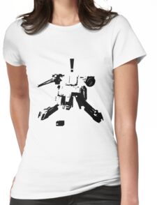 MGS Rex Womens Fitted T-Shirt