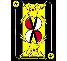 Pika card Photographic Print