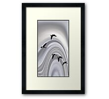 Geese in a Halo Framed Print
