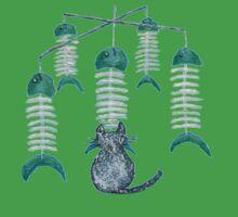 Fish Bone Chimes by Carol Megivern