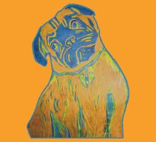 Puggishly Orange by cardiocentric